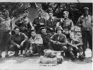 4th Platoon, Company D was the first group of Ghost Army deceivers to go to work in Normandy. They arrived eight days after D-Day.